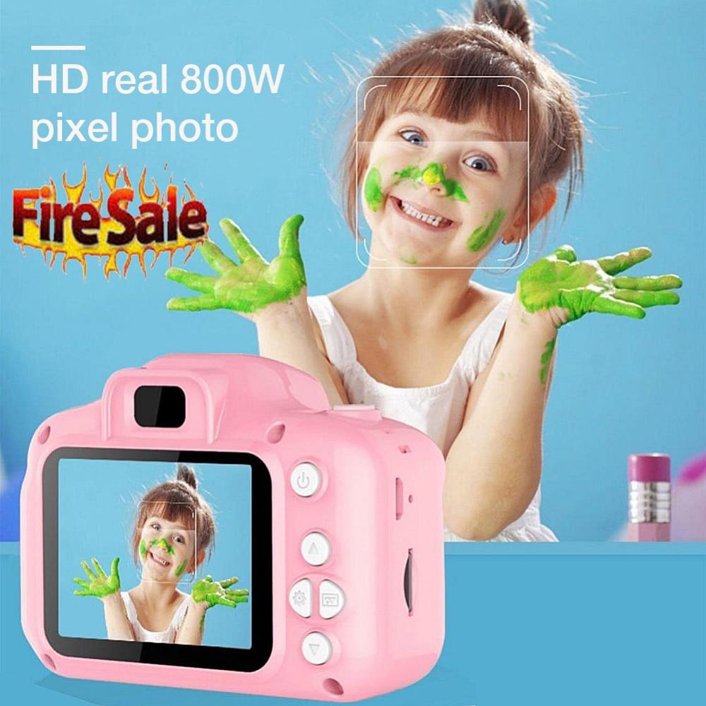 H3d6cc1b3191445c5b72d045870b4ec91y Children 1080P Digital Camera 2 Inch Screen Cute Cartoon Camera Toys Mini Video Camera Kids Child Gift