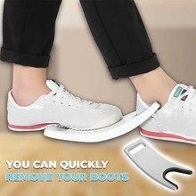 Многофункциональная для обуви, для удаления скребков, очиститель, сверхмощный съемник для обуви, для ленивых, не сгибается, для дома, новинка
