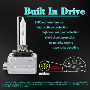 Image 5 - Kit de faro para coche hid kit de balasto de xenón 35w bombilla canbus zenon moto auto luz 6000k 8000k alta presión