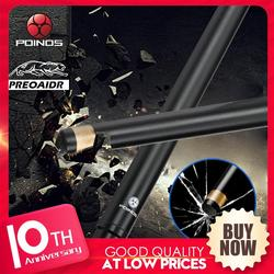 Palo de billar de fibra de carbono Preoaidr 3142 Poos billar palo de billar Snooker 10,8mm/11,8mm/13mm punta uni-loc Bullet Joint Shaft new