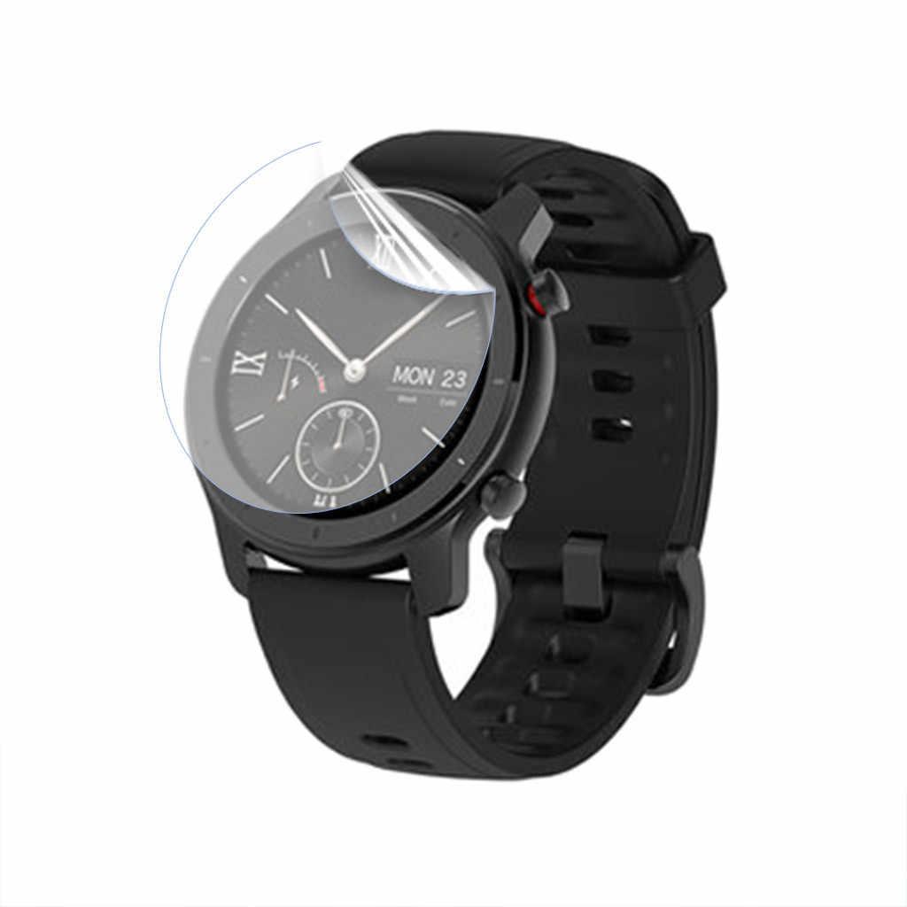 2019 Hot New1PC Mềm Mại Bảo Vệ Màn Hình Ngưng Tụ Cho Amazfit GTR Đồng Hồ Thông Minh Smart Watch 42 Mm Mua