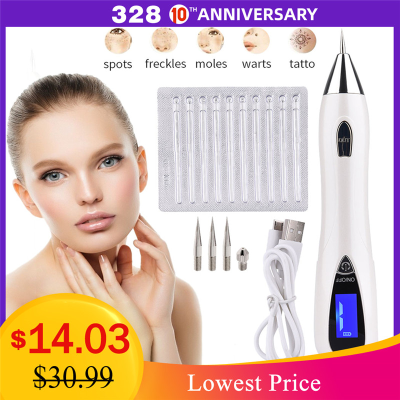 Skin Care Laser Plasma Pen Machine Laser Mole Tattoo Freckle Removal Pen Facial Freckle Tag Wart Removal Beauty Skin Care Tool