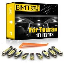 BMTxms para VW Volkswagen Touran 1T1 1T2 1T3 2003-2015 vehículo LED Interior mapa cúpula maletero Kit de luz Canbus coche iluminación