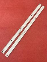 Nowy 2 sztuk listwa oświetleniowa led dla Samsung UE49KU6670U UE49KU6500 UE49MU6500 BN96 39674A 39673A 39671A 39672A BN96 39880A 39882A