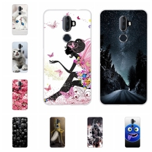 For Alcatel 3V Protective Case Ultra Slim Soft TPU Silicone Cover Cute Cat Patterned Bumper Coque