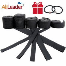 Alileader Cheap Elastic Band For Wigs Accessories High Quality Wig Making Materials Wig Caps For Making Closure wig Black Color cheap CN(Origin) ELASTIC MATERIAL 1 5cm 2 0cm 3 5cm 2 5cm 3cm elastic band Hairnets Black high elasticity for craftworks elastic band