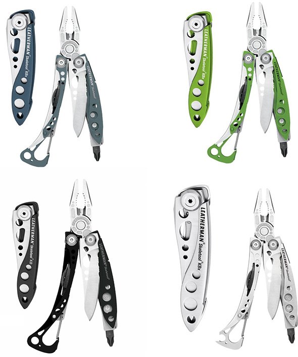 Opener Combo XS Knife And Multitool Bottle Lightweight  With SX LEATHERMAN Skeletool RX  CX