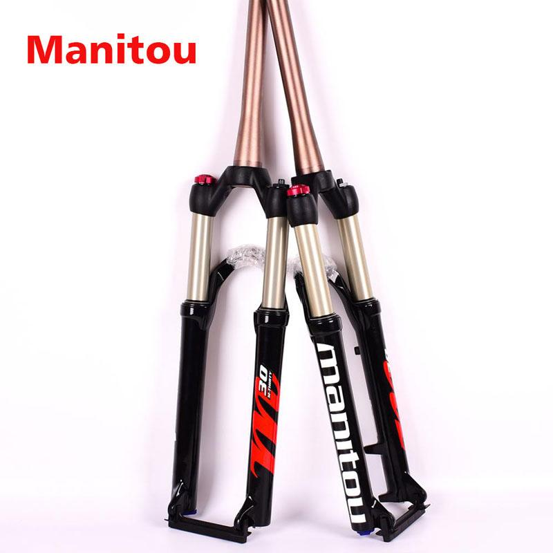 New 2019 Manitou Markhor Fork Tapered 100mm 9mm QR 1 1//8 26er 27.5er 29er