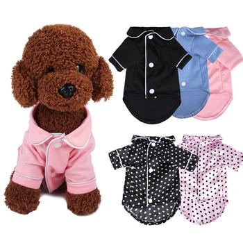 Luxury Clothes for Dog Fashion Dog Pajamas Pet Clothing for Small Medium Dogs Clothes Coat Yorkies Chihuahua Bulldogs Jacket image