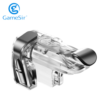 GameSir F2 Shooting Trigger Button Clips Fire Button Aim Key for iOS and Android Phone PUBG Call of Duty CODM