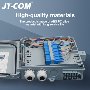 Image 2 - 12 core or 24 core Termination FTTH fiber optic distribution box full with single mode pigtail SC adapter