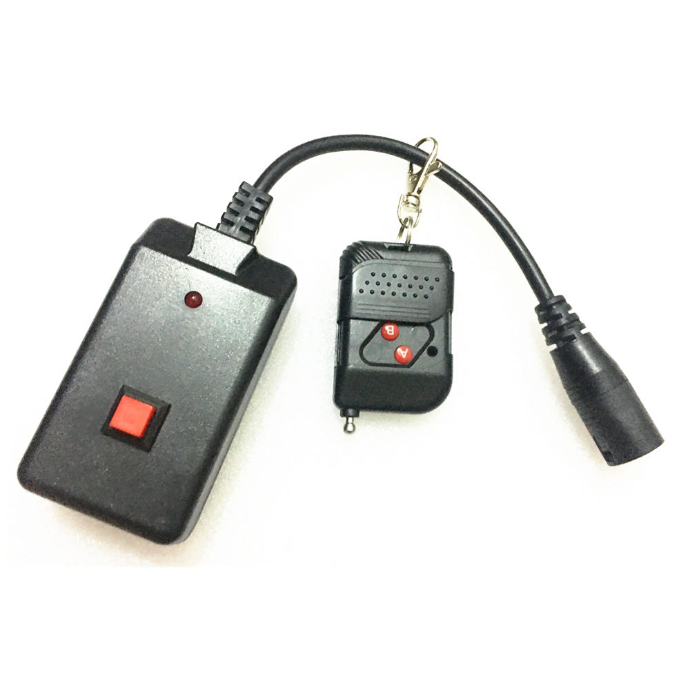 With Indicator Light 3 Pins XLR Wire Control+Wireless Remote Control Integration Receiver For 400W/900W/1500W Smoke Fog Machine
