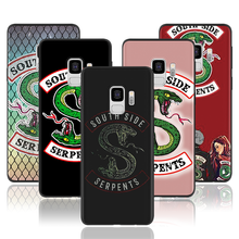 American TV Riverdale Southside Ular Case untuk Samsung Galaxy A70 A60 A50 A40 A20e A10 A7 2018 A9 2018 S10 plus S10e S8 Cover(China)