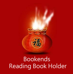 Livros de 1pc Stand Titular Livro de Leitura Atril Parágrafo Ibros Preguiçoso Lazer Bookends Livro Marca Marcador Criativo