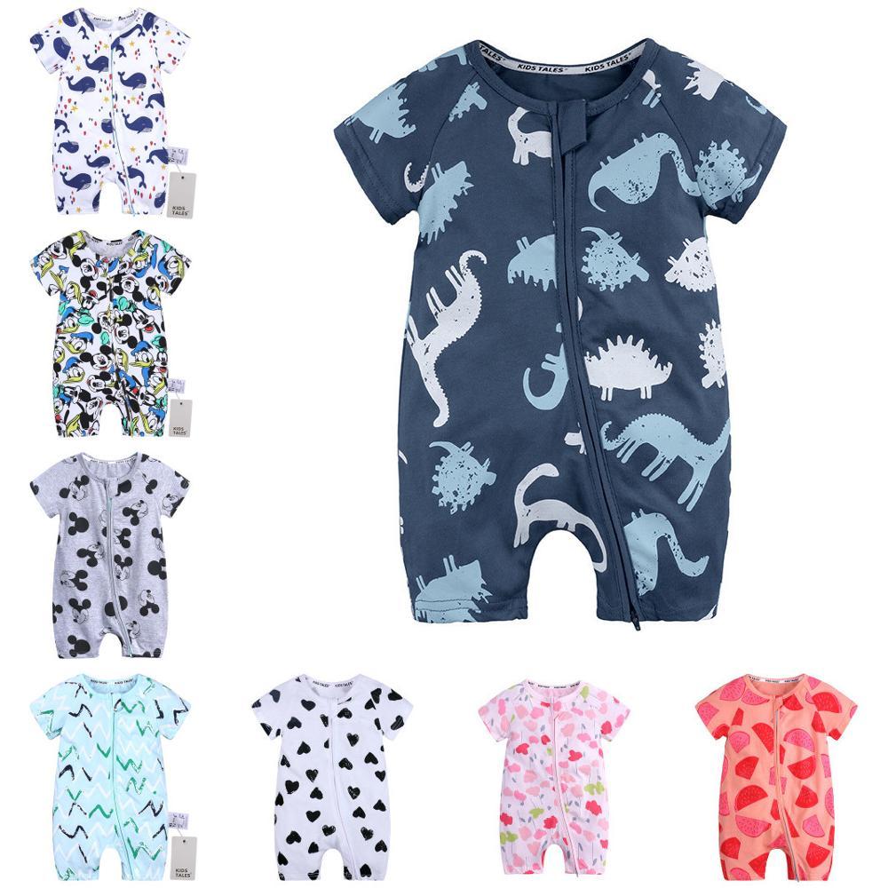 Baby long Short sleeveless Sleeve Bodysuit Baby Romper 0-24 months