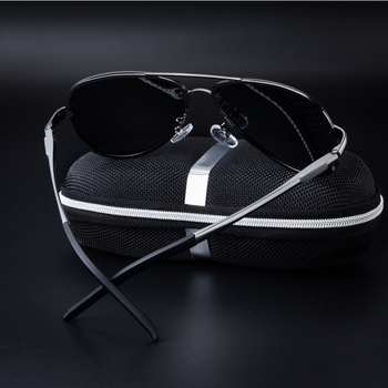 Rimless Polarized Driving Sunglasses 1
