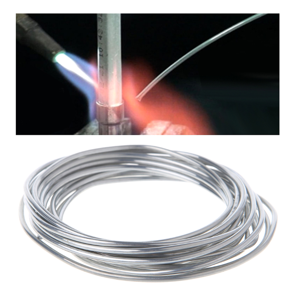 50cm 3m 5m 10m fio de solda para fios de solda condensador carro ar condicionado geladeira eletrodo alumínio baixa temperatura