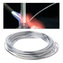 50cm 3m 5m 10m lehim teli kaynak telleri için kondenser araba klima buzdolabı düşük sıcaklık alüminyum elektrot