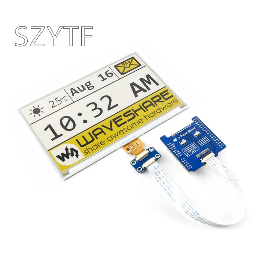 E-Paper Electronic Paper Ink Screen Bare Screen Driver Board Expansion Board Compatible With Arduino/NUCLEO