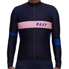 2020 maap вело Джерси с длинными рукавами зимняя кашемировая