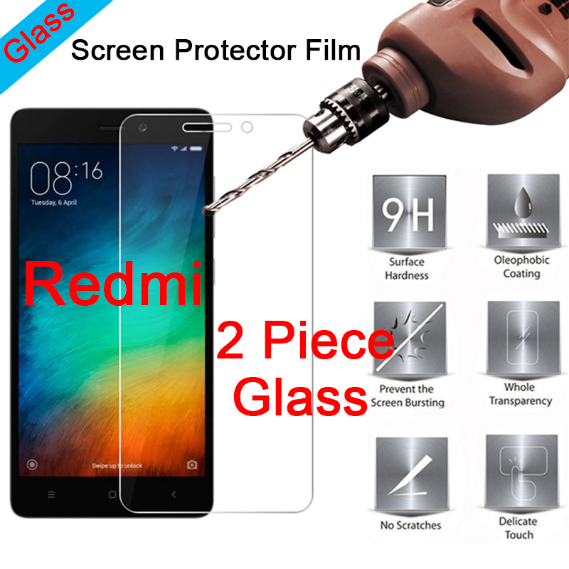 Screen-Protector Protective-Glass Xiaomi Redmi 2-Film 9H for S2 Go-3s 3x3 Clear 4x4a title=