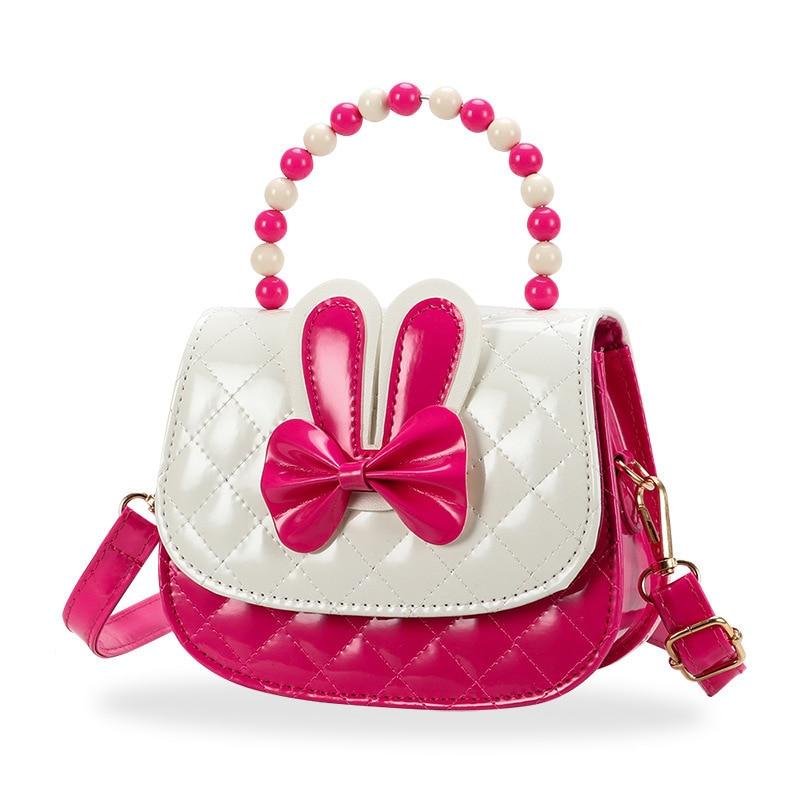 New Style Girls Bag Korean-style Children Kindergarten Crossbody Bag Cute Little Girl Beauty Burst Pearl Handbag