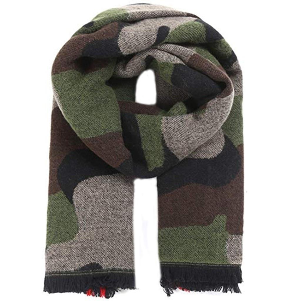 4# 2020 Fashion Winter Women Scarf Cashmere Camouflage Printing Soft Scarf Wrap Warm Shawl Scarf Scarves шарфы женские