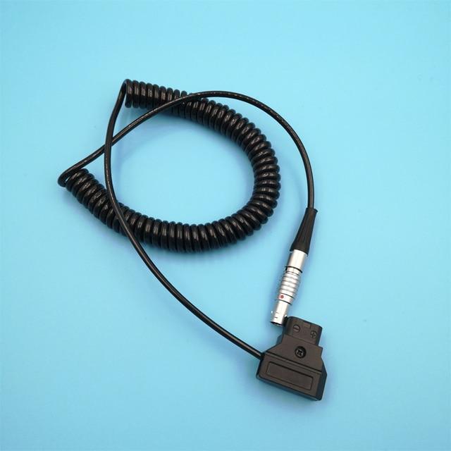 Teradek Bolt, Magicsky Videolink VL300 VL600, Vaxis transmisión de imagen inalámbrica en espiral Cable de alimentación 0B 2 Pin ángulo recto a d tap