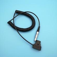 Teradek болт, Magicsky Videolink VL300 VL600, Vaxis Беспроводная передача изображения спиральный кабель питания 0B 2 контактный правый угол для D tap