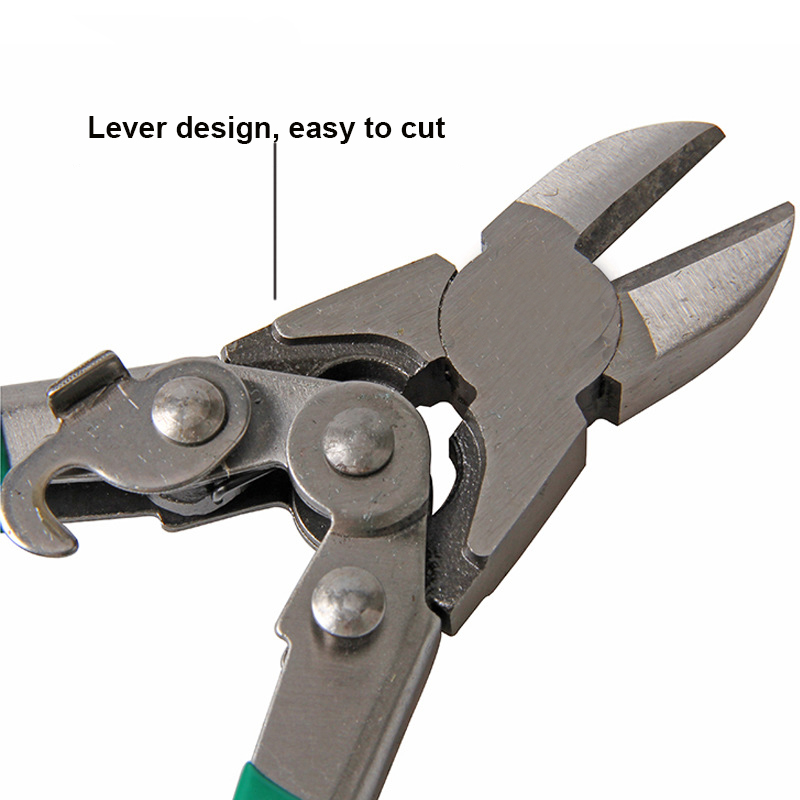 """6/"""" 8/"""" 10/"""" Multi-functional Electrical Wire Cable Cutters Pliers Side Snip Nipper"""