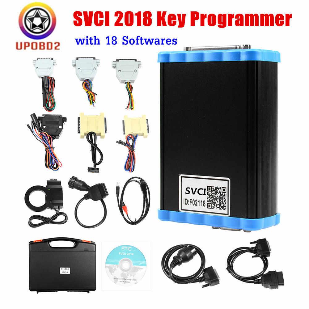 SVCI 2018 OBD2 сканер Abrites ключ программист крышка все функции VVDI2 V2014 V2015 полное