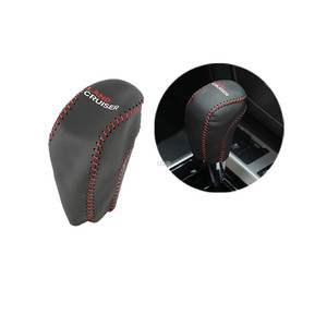 Image 4 - Automatic Leather Gear Hand Brake Cover for Toyota Land Cruiser 200 LC200 2008 2009 2010 2011 2012 2013 2014 2015 2016 2017 2018