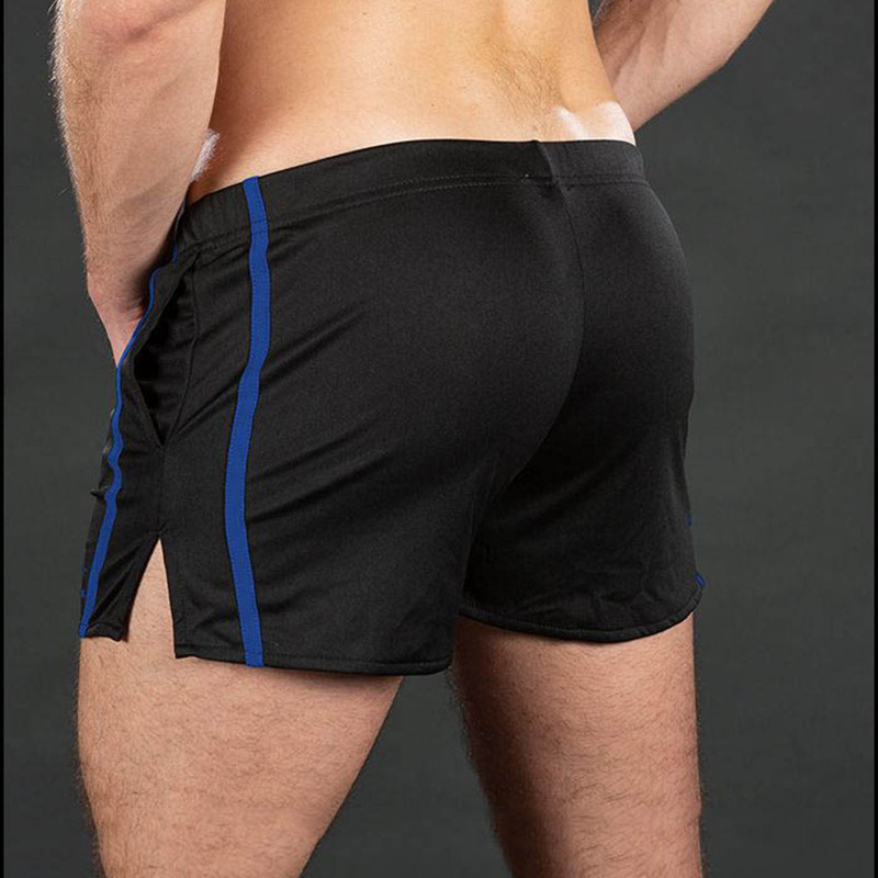 New Brand Men Fitness Bodybuilding Exercise shorts Male Breathable Quick Dry mesh Shorts Joggers Tight Sweatpants Fashion Shorts