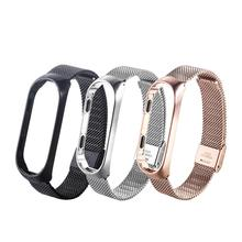 Mi Band 4 Wrist Strap Metal Stainless Steel For Xiaomi Bracelet Miband Wristband Replacement