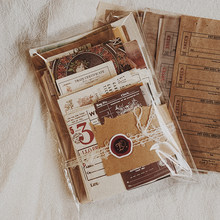Hojas Retro para decoración de notas, adhesivo de papelería, diario de notas, planificador de recortes, Material de decoración, diario, 230 hojas