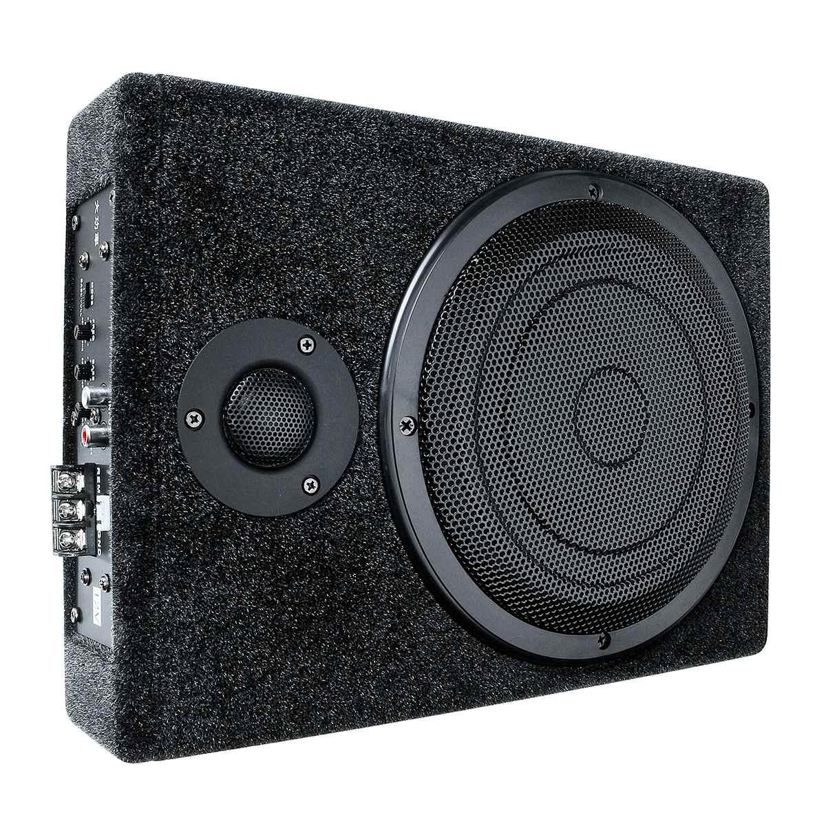 600W 8 Cal DC 12V wzmacniacz samochodowy audio stereo głośnik basowy subwoofer samochodowy samochód wzmacniacze audio głośnik samochodowy z zestaw przewodów