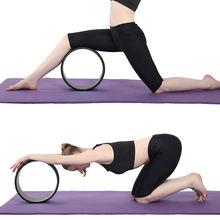 Massage Yoga Wheel Back Training Fitness Gym Home Exercise Yoga Accessories Unisex Workout Yoga Wheel Roller Pilates Equipment
