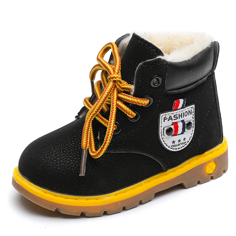 2019 New Winter For Child Kid Girl Boy Snow Boots Comfort Thick Antislip Short  Fashion Shoes