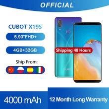 Cubot X19 S Smartphone Helio P23 Octa-Core Dual Camera 16MP 5.93″ 2160*1080 FHD+ Face ID 4000mAh Big Battery 4GB+32GB 4G LTE