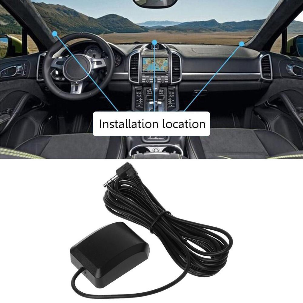 Car GPS Antenna Auto Car DVR Recorder GPS Navigation Accessories External Antenna Module 3.5mm Plug