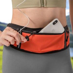 Профессиональная поясная сумка для бега, спортивный поясной кошелек, Женский Мужской чехол, скрытый кошелек, спортивные сумки для спортзал...