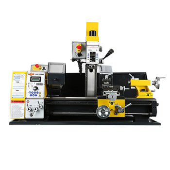 JYP250VF Lathe Drilling and Milling Combination Machine Tool Parallel Bar Lathe Three-in-one Lathe Multi-function Lathe Machine sino multi function milling machine lathe linear cutting linear scale grating ruler digital display dro