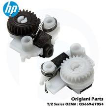 цена на Original For HP T1100 T1120 T1700 T1200 T1300 T1708 T610 T2300 T790 T7100 T795 Z2100 Z3100  Starwheel lifter Assy Q5669-67054