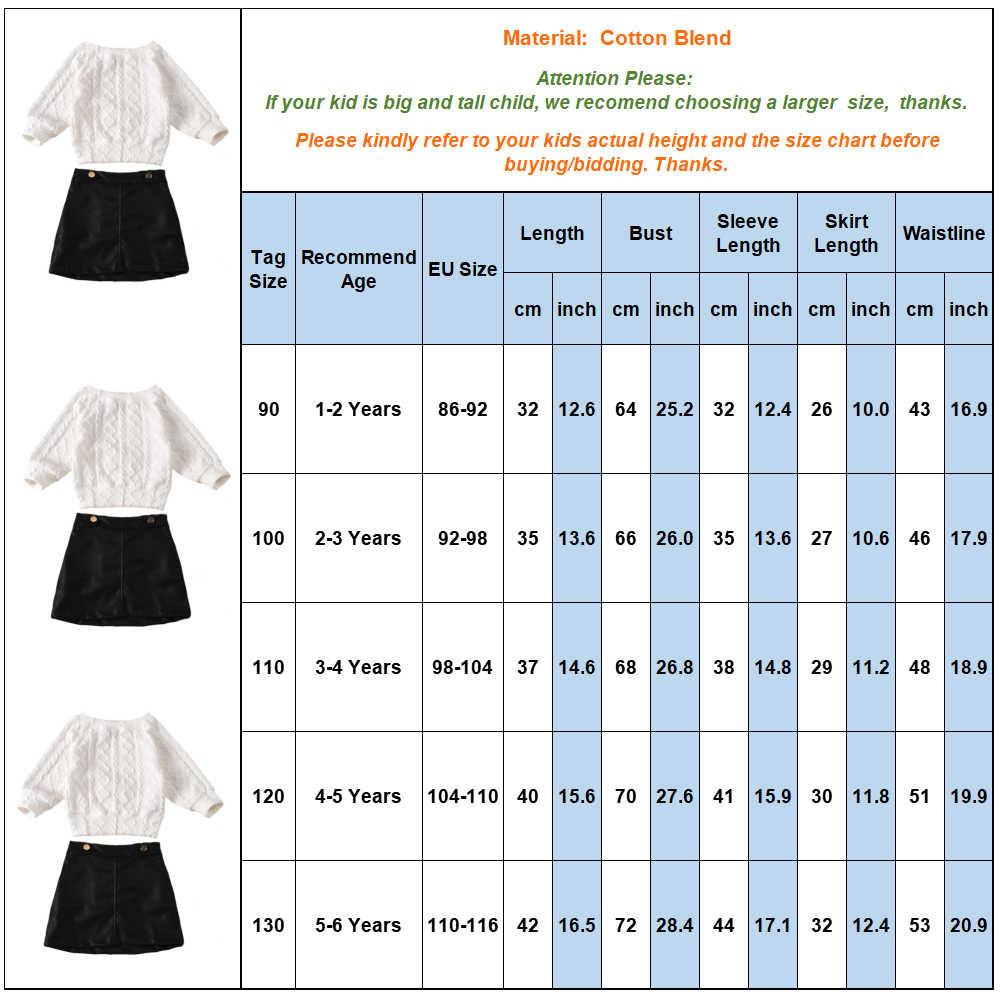 여자 의류 세트 2020 가을 새로운 화이트 스웨터 탑스 + 가짜 가죽 스커트 2pcs 의류 세트 패션 아이 의상 여자 정장 Q30