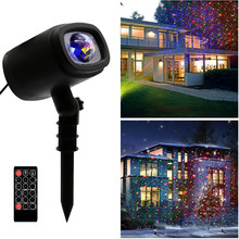 Halloween Projection Light Christmas Projector Light Led Ripple Ocean Light with Waterproof Outdoor/Indoor Landscape Decoration