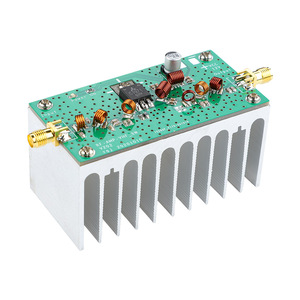 Image 3 - Aiyima 88 108mhz 6ワットvhfパワーアンプfm amplificador 12用fmトランスミッタrfラジオハムとヒートシンク