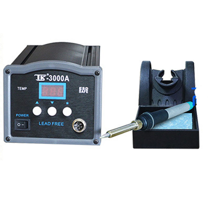 120W High Power High Frequency Eddy Current Intelligent Lead-free Soldering Station Soldering Iron TK 3000A