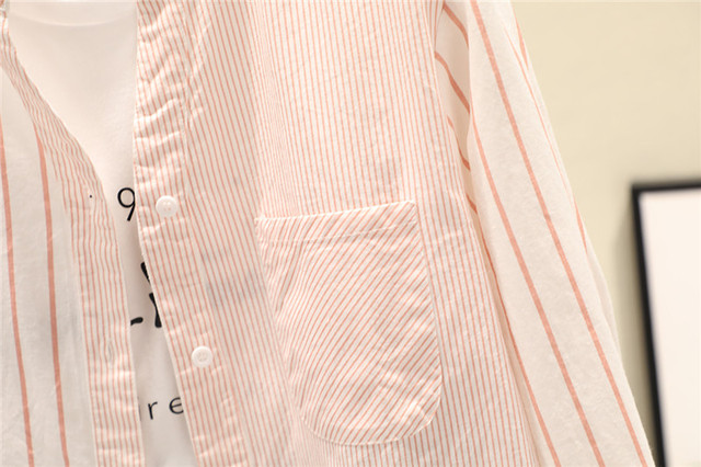 полосатые женские блузки рубашки туники женские топы и 2020 фотография