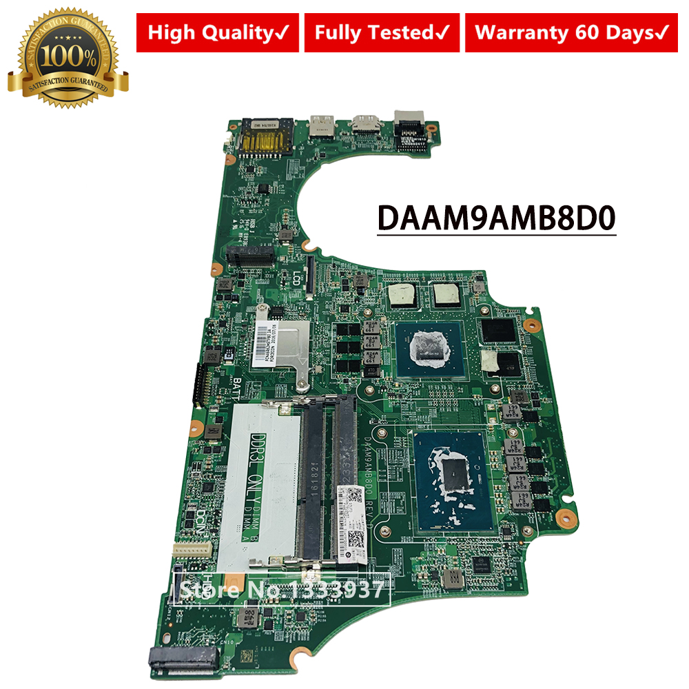 MPYPP Dell Inspiron 7559 Laptop Motherboard w// Intel i7-6700HQ 2.6Ghz CPU