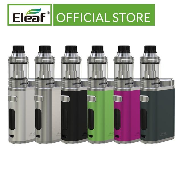 Original Eleaf iStick Pico 21700 mit ELLO kit 1 100W 0,91 inch OLED bildschirm HW1 C/HW2 Spule elektronische zigarette